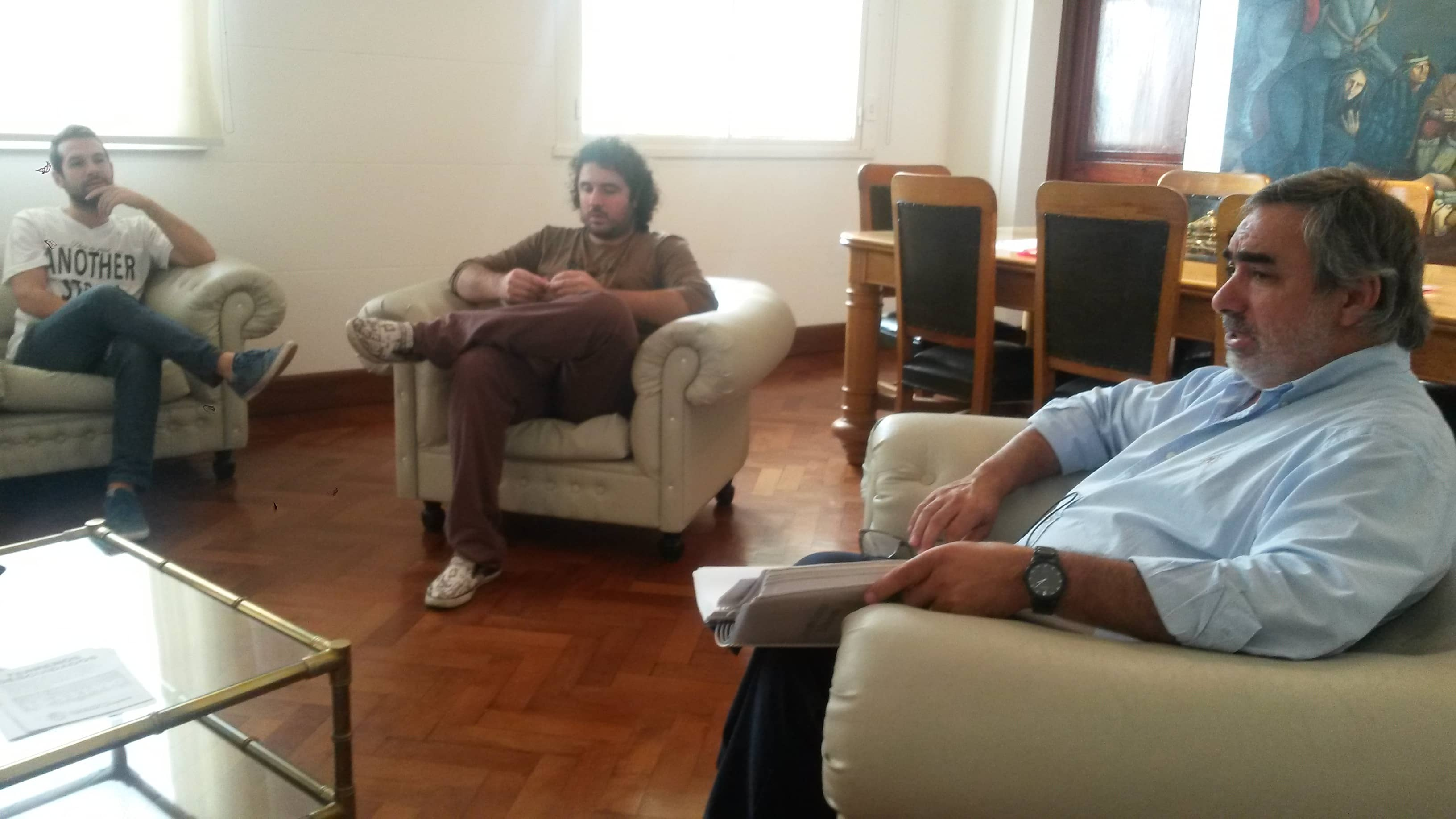 Se realizó una reunión con responsables de boliches