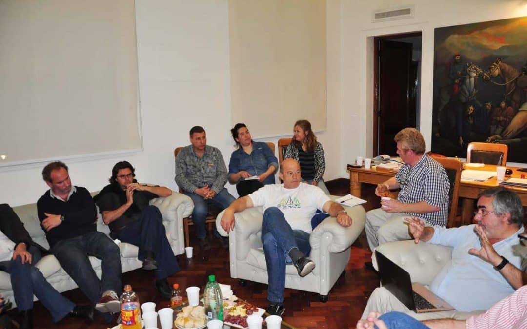 Presupuesto 2017: El intendente se reunió con presidentes de bloques de concejales
