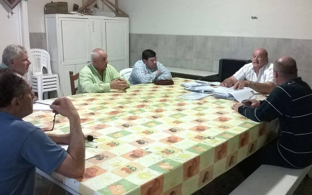 30 de Agosto: Zapata y el Consejo Vecinal se reunieron con el concejal Jorge Jordán