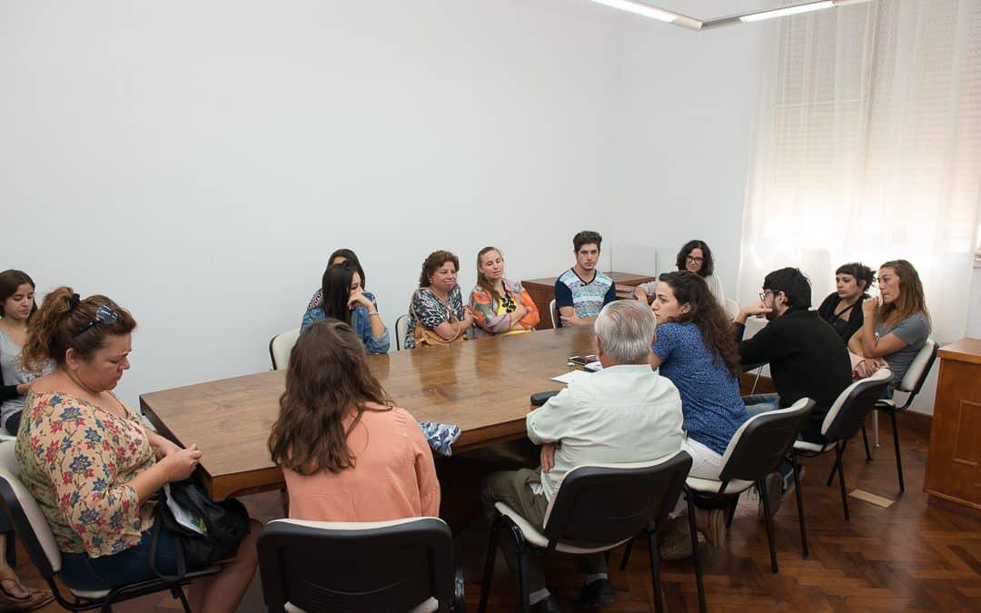 Se realizó una reunión con los beneficiarios de los créditos universitarios