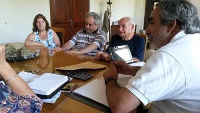 Reunión con comisión Cuello-Foster
