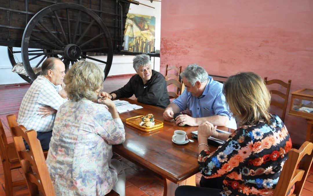 Se analizaron con al Sociedad Española, distintas obras para el Teatro Español
