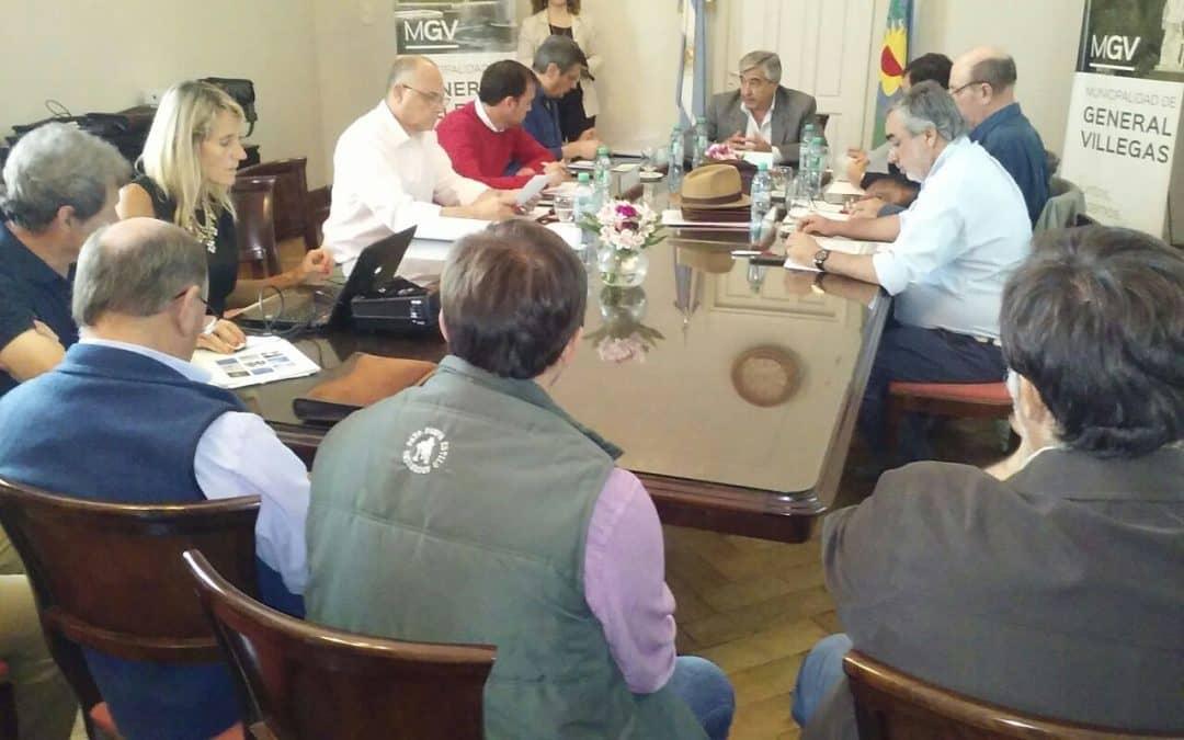 Fernández participa de una reunión regional por las inundaciones