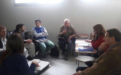 El Municipio se reunió con la escuela técnica por las prácticas profesionalizantes
