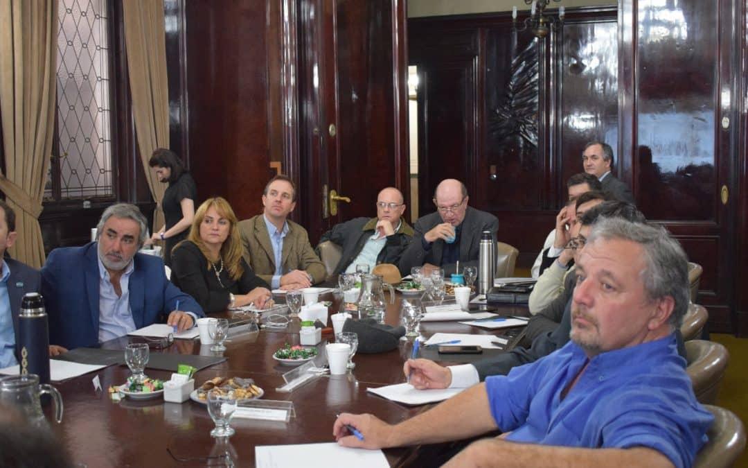 Fern ndez y funcionarios participaron en una reuni n en el for El ministerio del interior