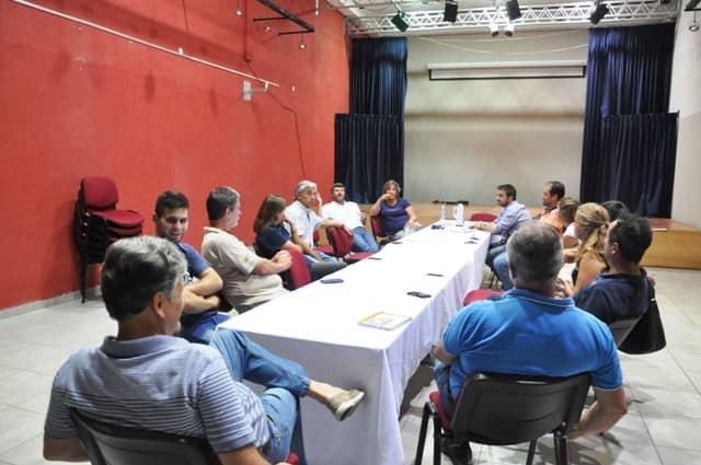 Se realizó una reunión con agronomías por un protocolo de emergencia y medidas de seguridad