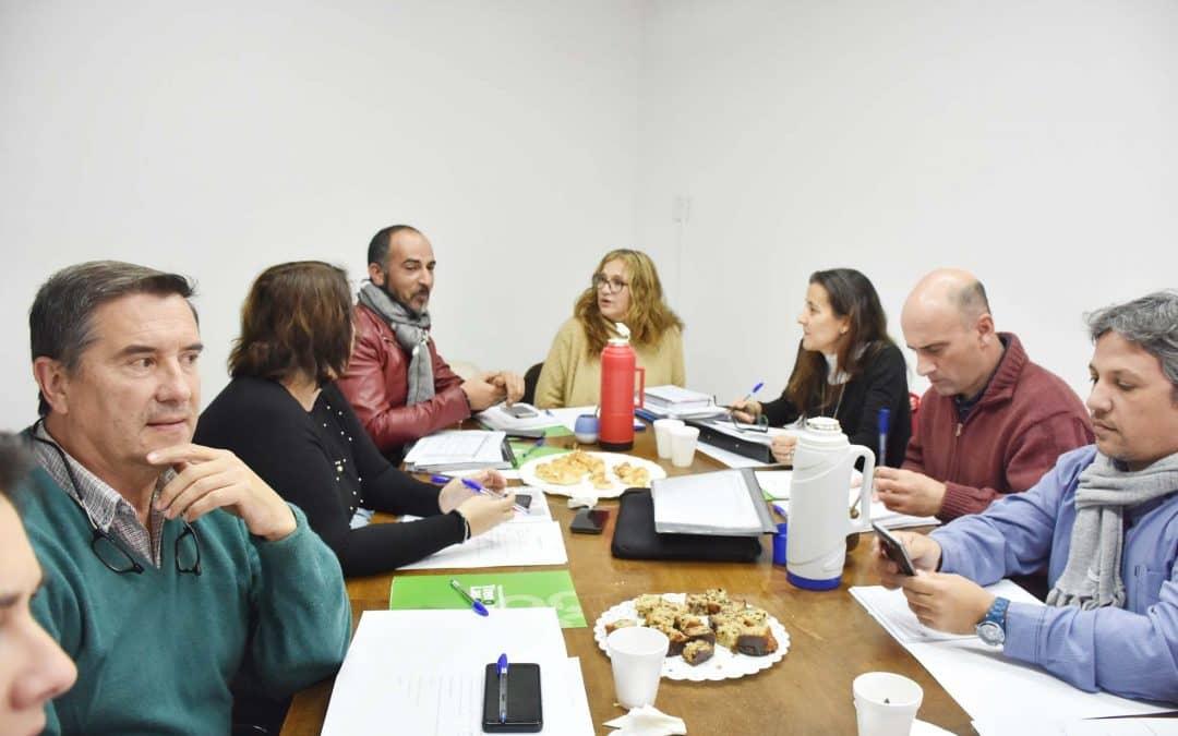 LOS DIRECTORES DE CULTURA DE LA REGIÓN DE LOS VIENTOS ESTÁN REUNIDOS DESDE ESTA MAÑANA EN TRENQUE LAUQUEN