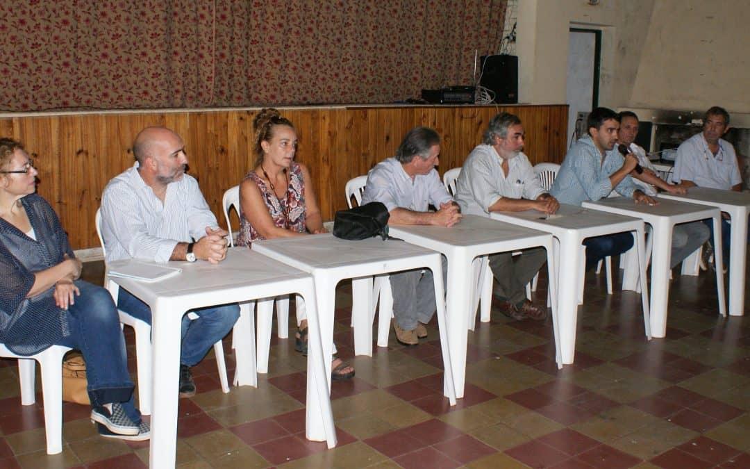 El Intendente encabezó una reunión por la Ruta del Cereal en Girodías