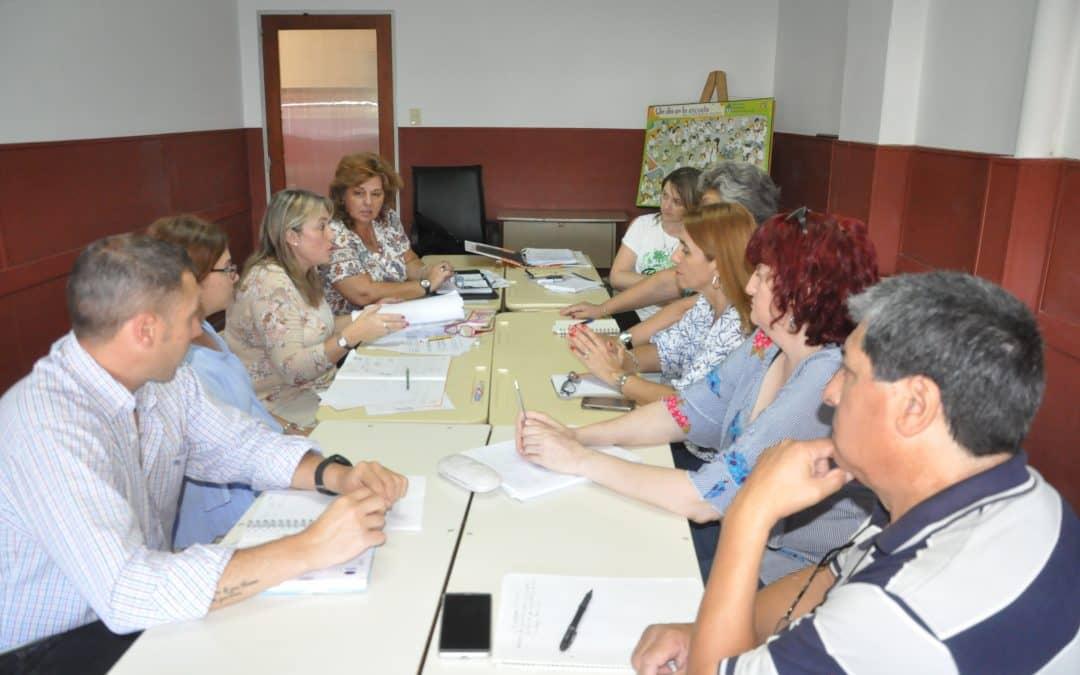 Se realizó hoy una reunión de UEGD para trabajar sobre infraestructura