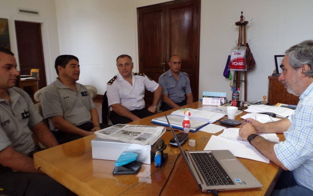 Fernández recibió hoy a nuevas autoridades de la Unidad Penal 20