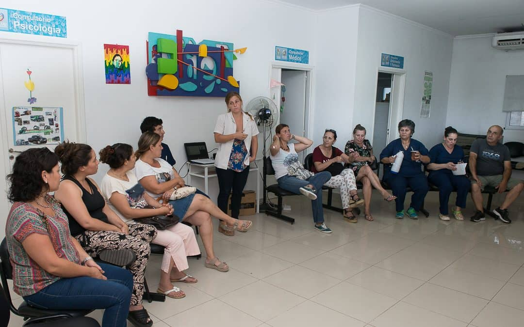 Se realizó una reunión por vacunas en el CAPS Ramón Carrillo