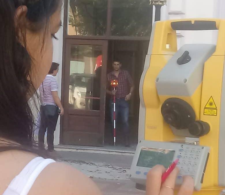 TEATRO ESPAÑOL: UN EQUIPO TECNICO DE INFRAESTRUCTURA BONAERENSE HIZO UN RELEVAMIENTO DE TODO EL EDIFICIO