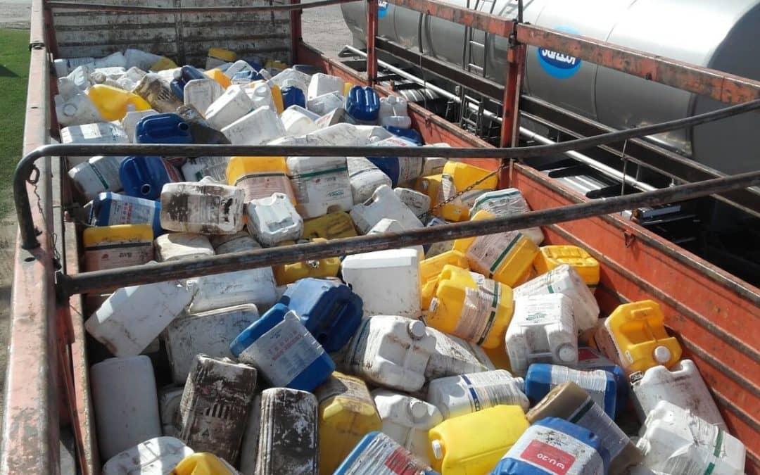Secuestro de un camión con bidones de agroquímicos en Siete Primos