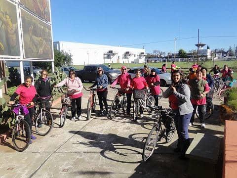 Segunda bicicleteada