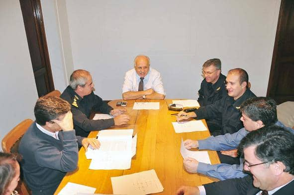 Reunión por Cámaras de Seguridad
