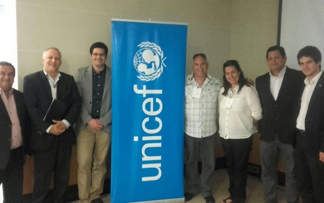 Singlar participó de una jornada sobre PP de Unicef y el Ministerio del Interior