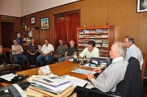 Feito se reunió ayer con empresarios del SIP