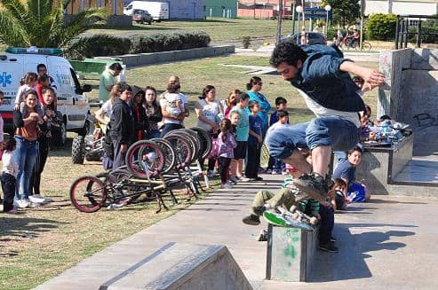 Se realizó la Skate Demo