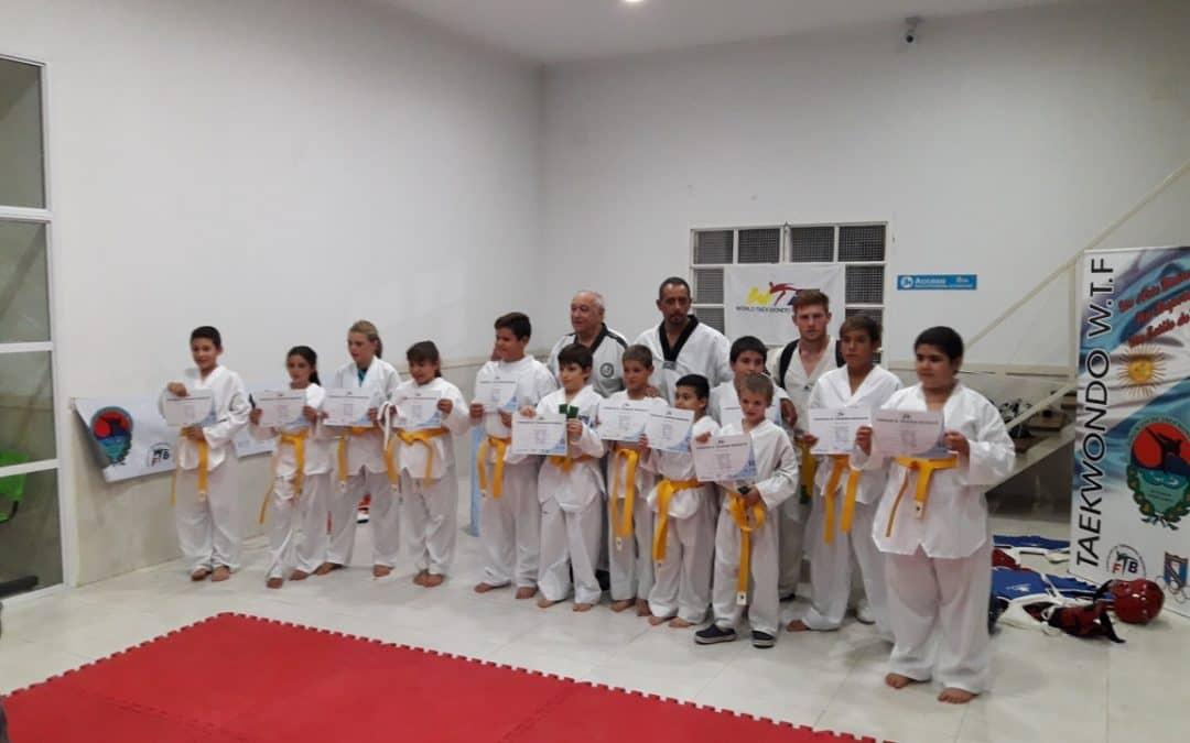 Chicos y chicas de Deporte Barrial participarán de un torneo federativo de Taekwon Do