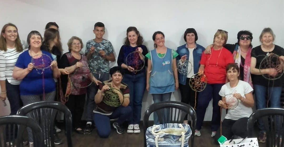 Se realizó un nuevo Taller de Arte en la Escuela Municipal de Garré