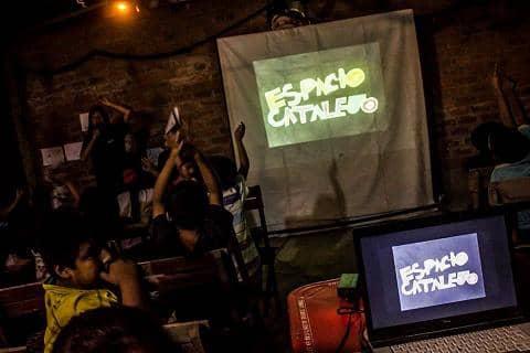 Espacio Catalejo en festival latinoamericano