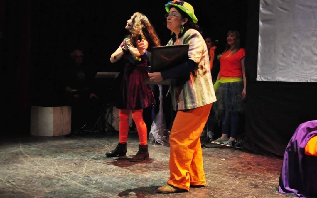 Se presentó una obra de Teatro del Cearte para escuelas locales