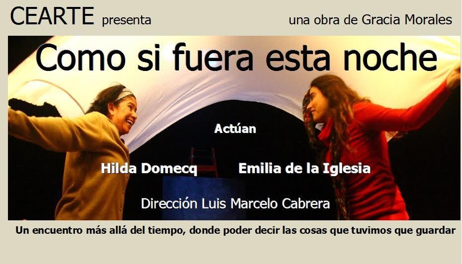 """""""Como si fuera esta noche"""" hoy, en el Teatro Español"""