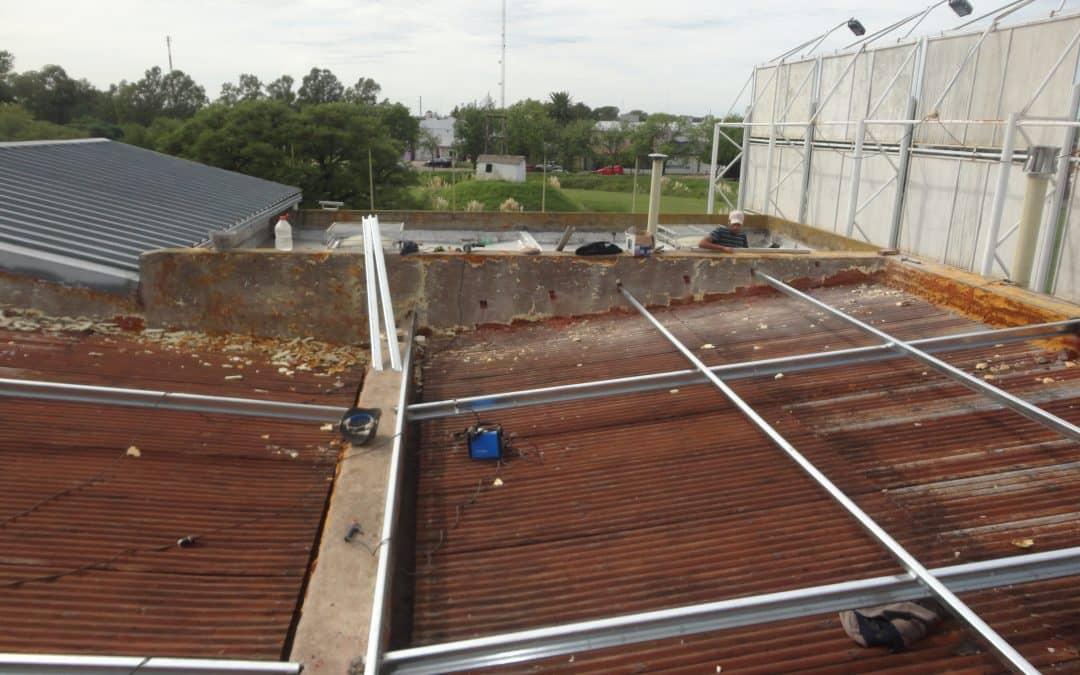 El Municipio repara filtraciones en el techo del Museo Histórico Regional