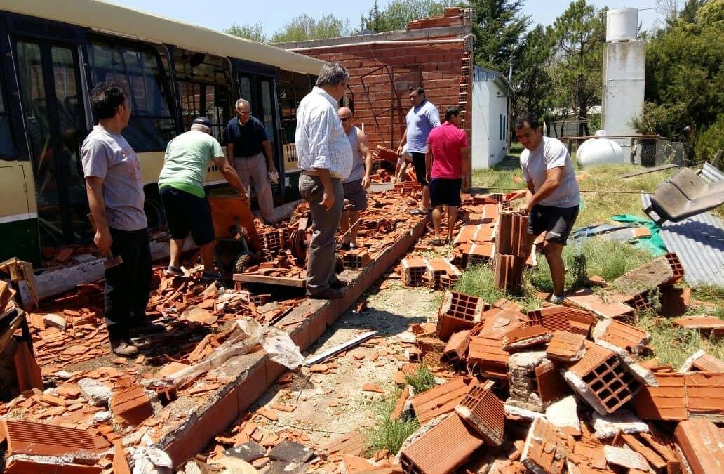 Continúan las tareas para solucionar los daños del temporal