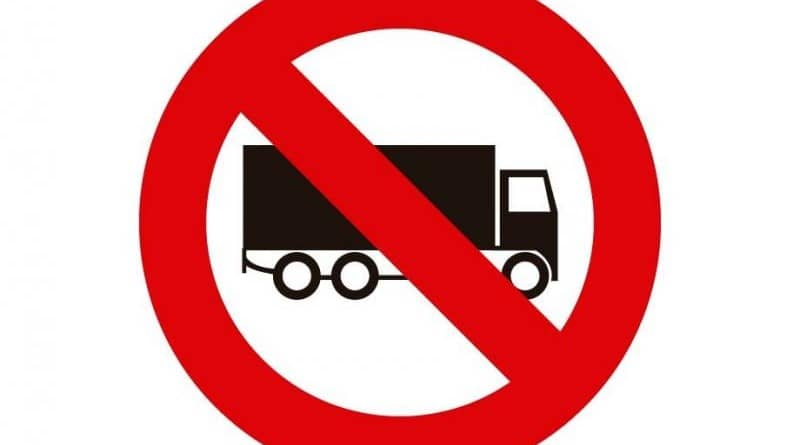 30 de Agosto: no se puede circular con tránsito pesado