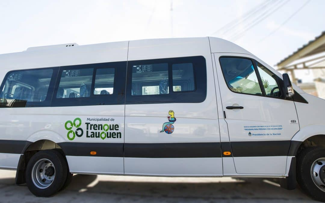 El Municipio cuenta con un transporte para personas con discapacidad