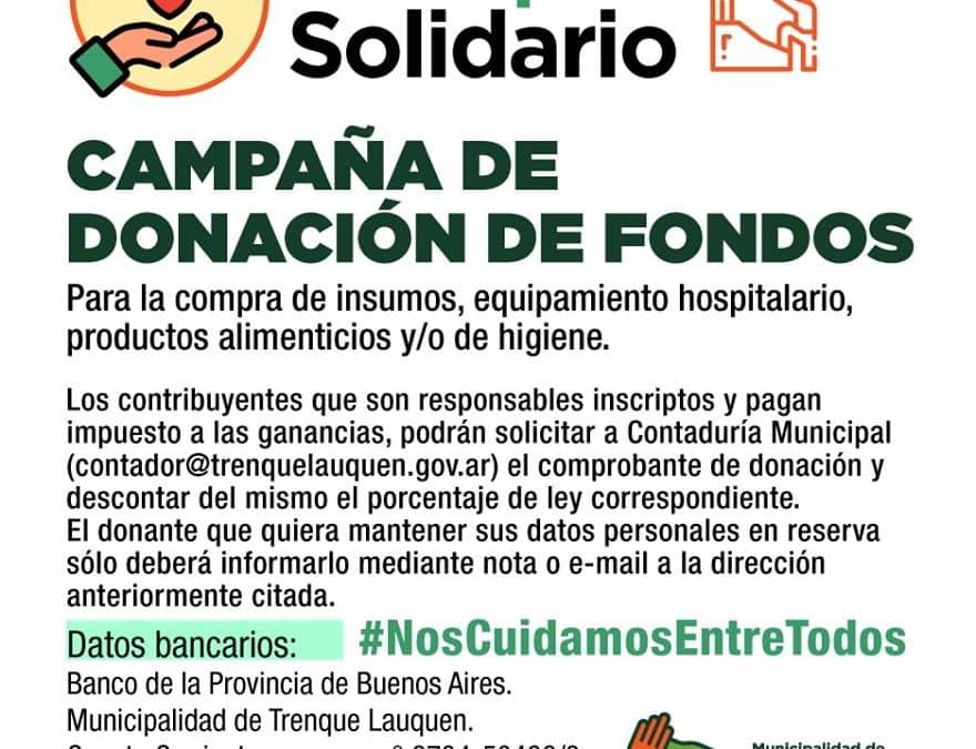 DONACIONES: 1.020.000 PESOS DE RECAUDACIÓN