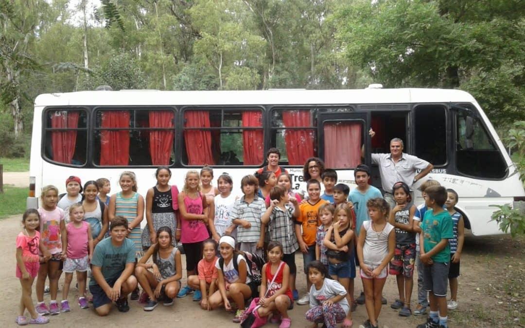 Vecinos de Berutti viajaron al Zoo de América