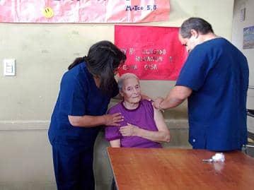 Vacunación en el Hogar Castella