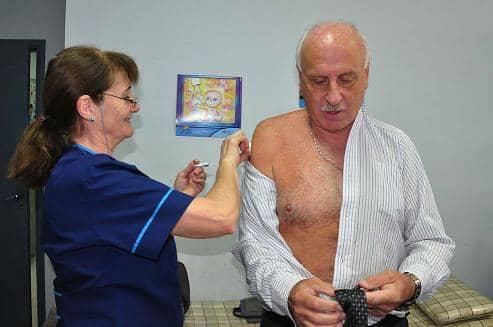 Vacunas antigripales para adultos