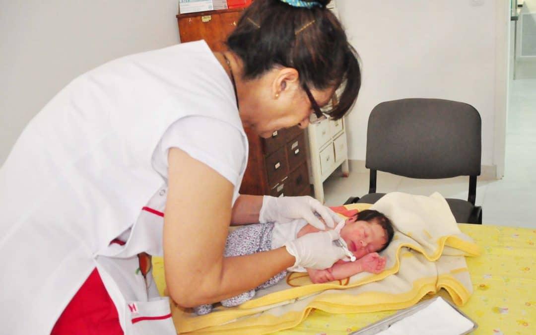 Vacunación antigripal: ya se aplicaron 3100 dosis