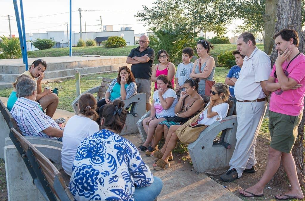 Fernández y Singlar se reunieron con vecinos del ex loteo García Neira