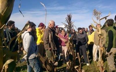 """Productores locales visitaron el establecimiento agroecológico """"La Aurora"""""""