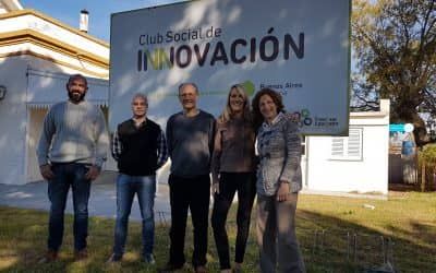 DESDE EL MUNICIPIO DE VILLEGAS VIAJARON PARA CONOCER EL CLUB SOCIAL DE INNOVACIÓN Y PUNTO DIGITAL LOCAL