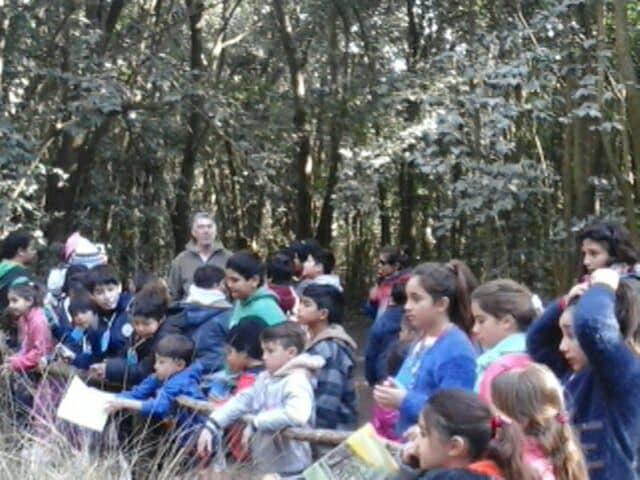 Segunda visita al Zoo de América con chicos de distintos barrios