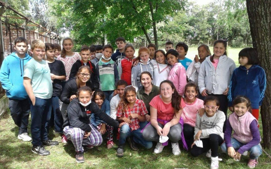 Alumnos de la Escuela 10 de Juan José Paso visitaron el Prolim