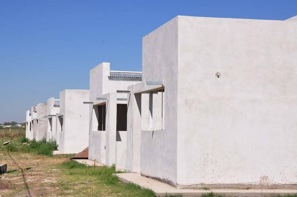 Se avanza con la construcción de viviendas
