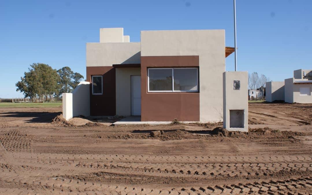 Están prácticamente listas 15 viviendas para entregar en Berutti y 30 de Agosto