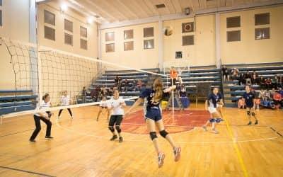 Se juega la segunda fecha de la Asociación Municipal de Voley Femenino