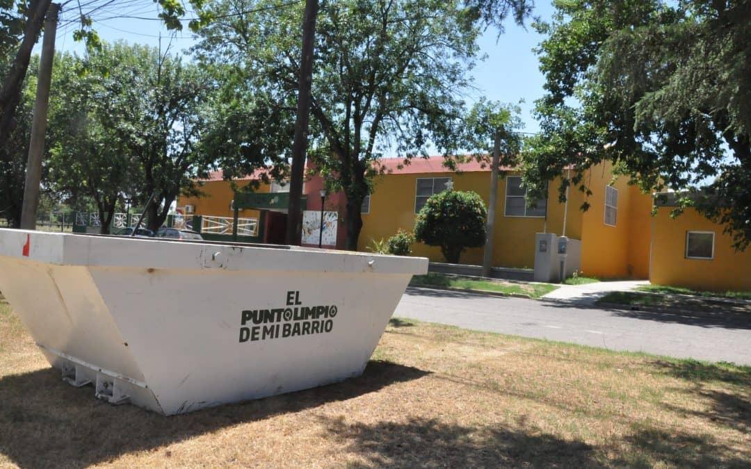 El Municipio coloca volquetes para descacharrización en los barrios