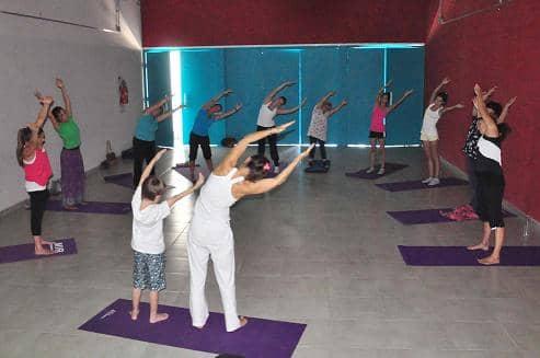 Yoga en la Casa de la Cultura